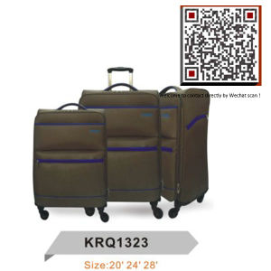 Light Weight 4wheels EVA Inside Trolley Soft Luggage (KRQ1323) pictures & photos