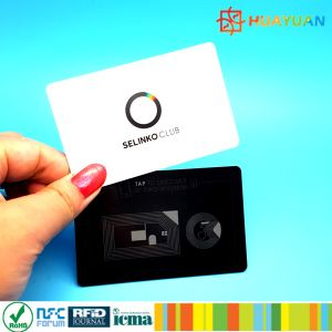 Custom programable PVC blank chip ISO1443A MIFARE Classic 1K RFID hotel key card pictures & photos
