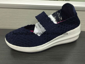 High Heel Woven Shoes pictures & photos