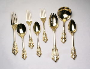 Gold Cutlery Set pictures & photos