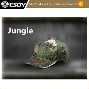 Jungle Camo Tactical Rattlesnake Airsoft Combat Hunting Hats Baseball Cap pictures & photos
