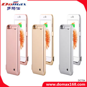 for iPhone 6 Plus Wireless Charger Portable Battery Case Backup Power Bank with RoHS pictures & photos