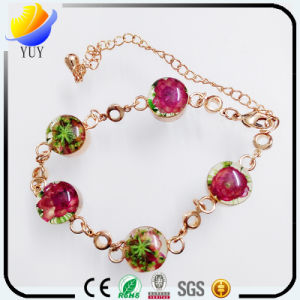 Colorful Resin Stone with Diamond Bracelet pictures & photos