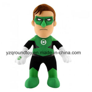 Plush Green Lantern Soft Stuffed Toy Kids Funny Gift Doll pictures & photos