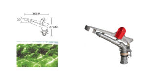"High Quality Economical Zinc Alloy Spraying Gun Rotary Sprinkler for Lawn 1.5"" 2"" 2.5"" pictures & photos"