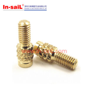 Press-in Threaded Insert Nut of Motorcycle Part pictures & photos