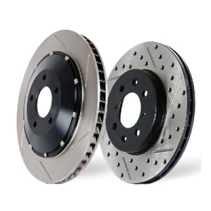 Euro Car Spare Parts Painted Series Brake Disc pictures & photos