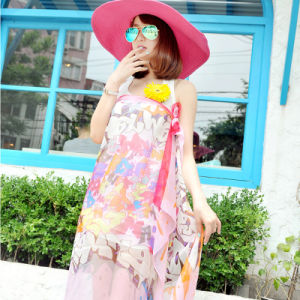 The New Polyester Chiffon Scarf Beach Dress pictures & photos