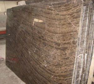 China Polished Brown Natural Marble, . 1cm/1.5cm/2cm/3cm Thcikness Coffee Brown Marble Slab/Tile pictures & photos