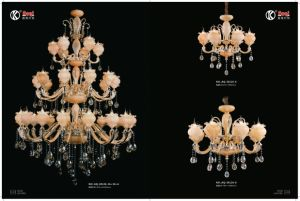 Hotel Project Zinc Alloy Luxury Crystal Chandelier Light pictures & photos