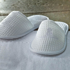 Unisex Non-Skid Disposable Waffle Hotel Slippers pictures & photos