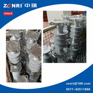 24kv 35kv 66kv 110kv 220kv Composite Post Insulator for Transmission pictures & photos