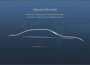 Original Xiaomi Mi Car Charger Dual USB Max 5V/3.5A Metal Style pictures & photos