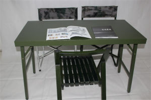 2016 Traditional Design Patent Tactical Multifunctional Militarty Use Outdoor Training Chair or Desk pictures & photos