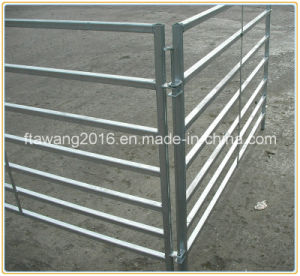 Galvanized Sheep Pens /Iron Fence Panel 7 Rails Sheep Fencing pictures & photos