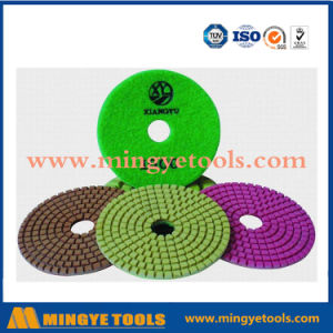Diamond Tools Wet Diamond Polishing Pads for Polishing Marble, Granite pictures & photos