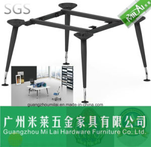 Good Quality Office Furniture Computer Table with Metal Frame pictures & photos