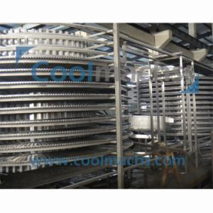 Double Spiral Freezer for Meat Seafood Fish Bread pictures & photos