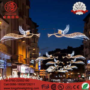 LED Red and Green Motif Across Street Light Christmas Decoration for Holiday pictures & photos