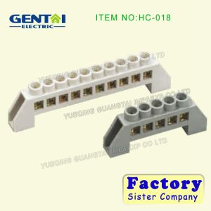 Good Quality PE Material Terminal Block with Brass Screw pictures & photos