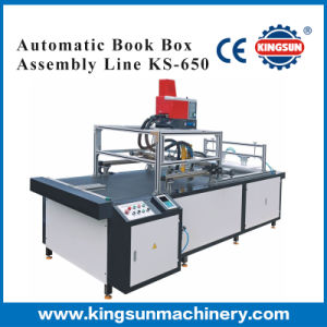 Automatic Book Box Assembly Line pictures & photos