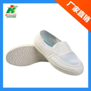 Antistatic PU 4-Eyes Work Shoe pictures & photos