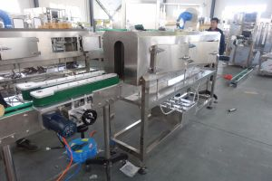 PVC Pet Cosmetic Daily Product Drink Bottle Label Shrink Tunnel Machine pictures & photos