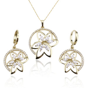 Women′s Jewelry 18k Gold Plated Accessory Sets pictures & photos