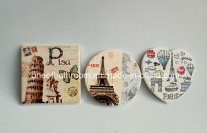 Different Style Free Printing Ceramic Gift Cup Mat/Coaster pictures & photos