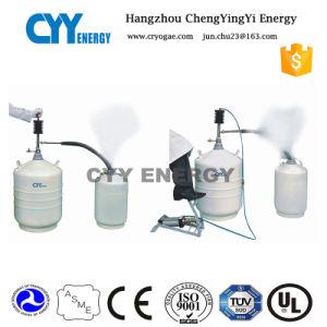10L Aluminum Alloy Cryogenic Liquid Nitrogen Container for Ice Cream pictures & photos
