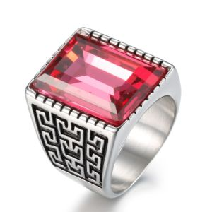 Anti Rust Engraved Titanium Stainless Steel Fashion Designer Man Rings Jewelry pictures & photos