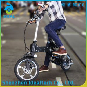 Brushless Teeth 14 Inch Folding Electric Bike pictures & photos