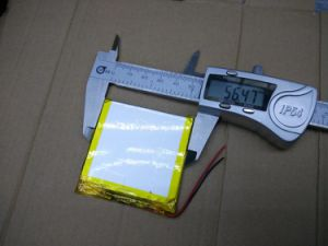 3.7V Lithium Polymer Battery 406060 405757 MP4 MP5 GPS Mobile Power 1900mAh pictures & photos