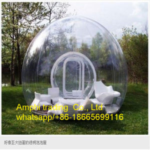 Clear Inflatable Bubble Tent, Transparent Tent for Advertising