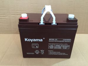 12V 35ah AGM Battery for Wheelchair pictures & photos