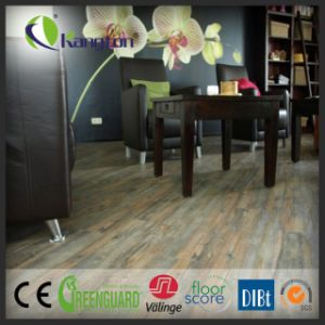 Lvt Luxury Vinyl Tiles Decorative Wood Pattern PVC Flooring Lvt Flooring pictures & photos