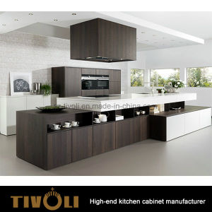 High Gloss Painitng and Veneer Pantry Cabinets for Kitchen Furniture Tivo-0234h pictures & photos