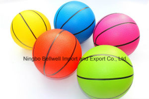 Custom Logo Printed Inflated PVC Toy Basketball pictures & photos