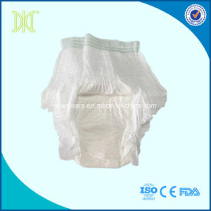 Pant Style Soft Cotton Disposable Adult Pull up Diapers pictures & photos