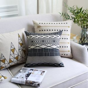 Bargain Cotton Linen Decorative Throws for Decoration pictures & photos