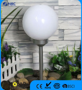 Solar Powered Stake Light Garden Light with 25 Cm Ball pictures & photos
