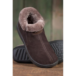 Women′s Sheepskin Slipper Shoes Winter Sheepskin Shoe pictures & photos
