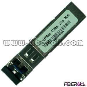 155Mbps SFP Fiber Optical Transceiver 1310nm 20km LC Ddm pictures & photos