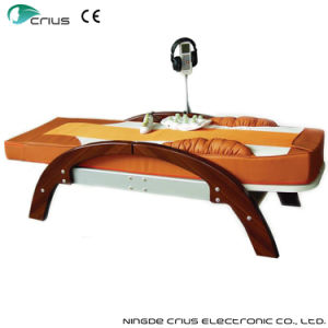 Best Price Shiatsu Wooden Massage Table pictures & photos