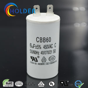 Start Capacitor Cbb60 White Color for Washing Machine pictures & photos