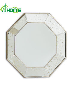 New Designed Wall Hanging Irregular Shaped Mirror in Cheap Price with Bevel Edges pictures & photos
