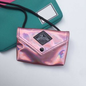 Flash Pink PU Simple Style Ladies Bag (M009-10) pictures & photos