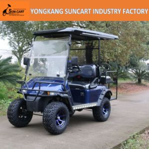 2+2 Seat Electric Golf Cart with Foldable Seat pictures & photos