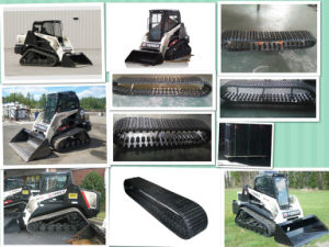 Cheap Price Rubber Tracks for RC30 Compacted Loaders pictures & photos
