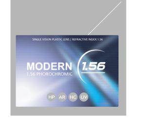 1.56 Single Vision Photobrown Plastic Lens Hc pictures & photos